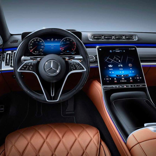 mercedes vs lucid: different views on luxury UI design