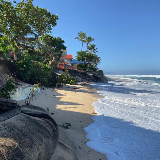 hawaii beach loss