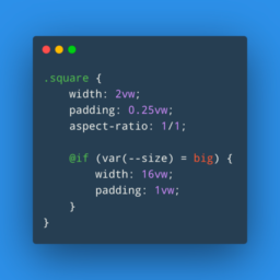 the future of CSS: higher level custom properties to control multiple declarations