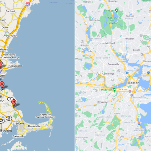 case study: the evolution of google maps & colour picking methodology