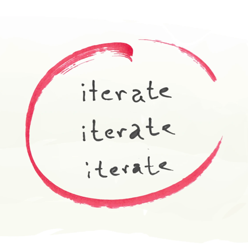 iterations — the secret to great results