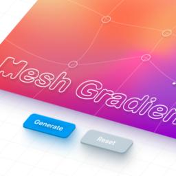 mesh gradients